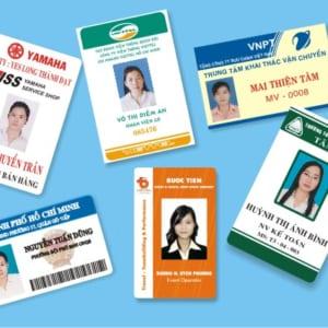 Chuyên in các loại thẻ nhựa nhanh chóng, giá rẻ