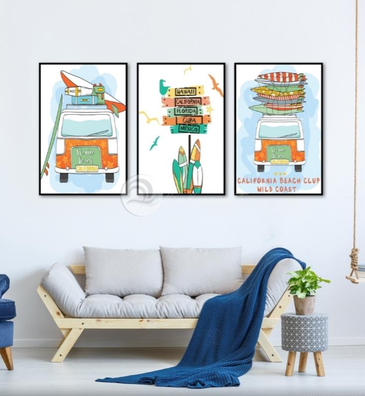 Xưởng in tranh canvas giá rẻ tại Hà Nội